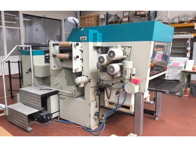Gietz FSA 870 Prägefoliendruck-Maschine - 1