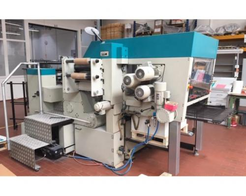 Gietz FSA 870 Prägefoliendruck-Maschine - Bild 1