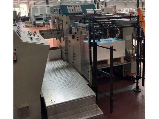 Gietz FSA 870 Prägefoliendruck-Maschine - 2