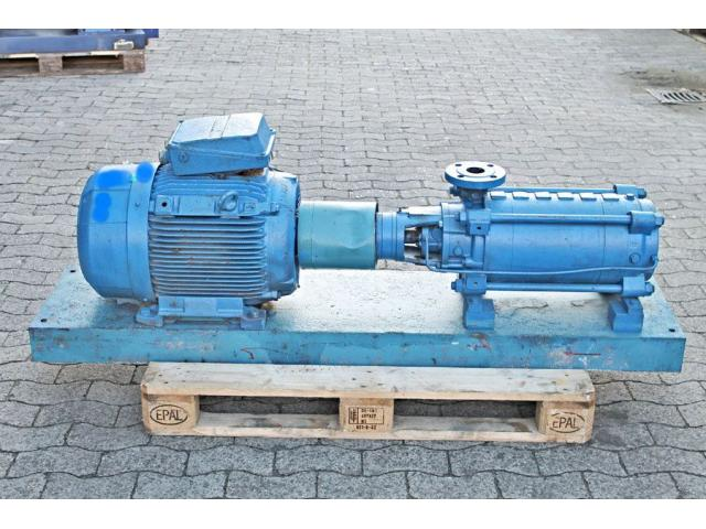 Hochdruckkreiselpumpe KSB MTC-A 50 / 7B-3.1 10.63 - 1