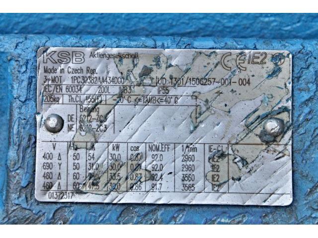 Hochdruckkreiselpumpe KSB MTC-A 50 / 7B-3.1 10.63 - 2