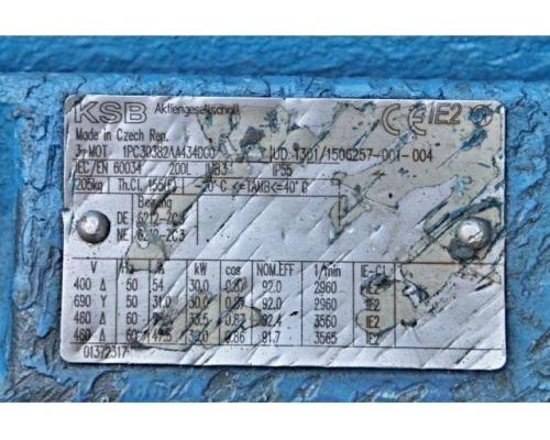 Hochdruckkreiselpumpe KSB MTC-A 50 / 7B-3.1 10.63 - Bild 2