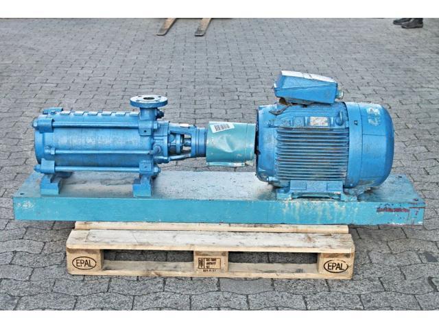 Hochdruckkreiselpumpe KSB MTC-A 50 / 7B-3.1 10.63 - 4