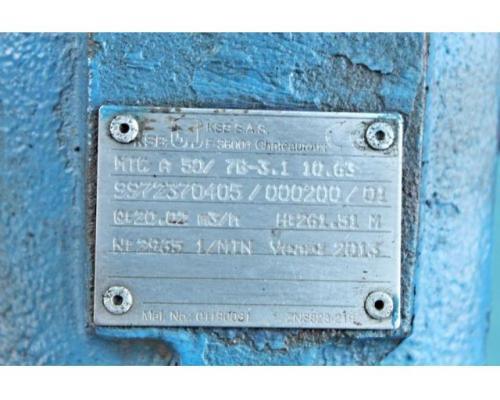 Hochdruckkreiselpumpe KSB MTC-A 50 / 7B-3.1 10.63 - Bild 6