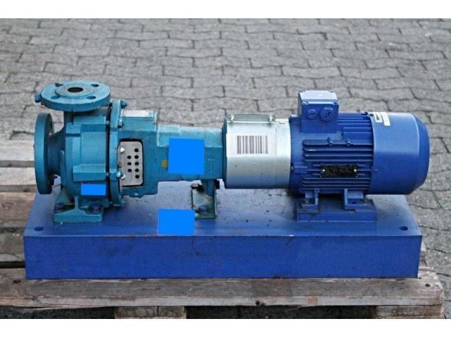 Kreiselpumpe / centrifugal pump + Motor KSB - 1