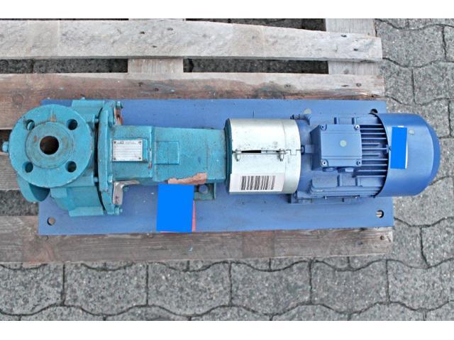 Kreiselpumpe / centrifugal pump + Motor KSB - 6