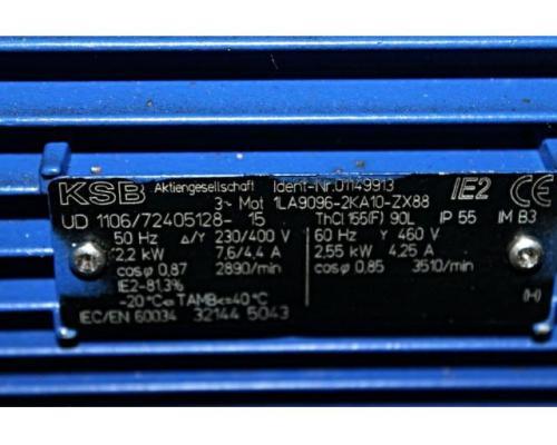 Kreiselpumpe / centrifugal pump + Motor KSB - Bild 7