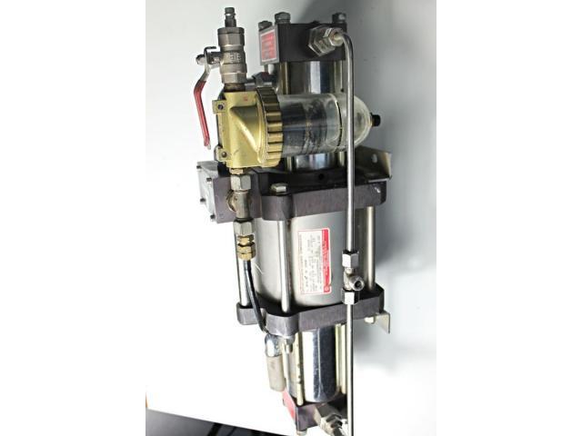 MAXIMATOR - druckluftbetriebener Kompressor DLE 5 GG - 4