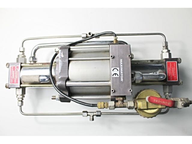 MAXIMATOR - druckluftbetriebener Kompressor DLE 5 GG - 7
