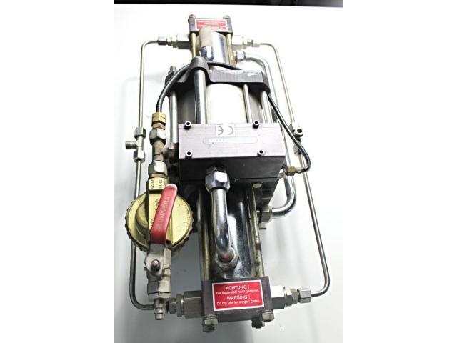 MAXIMATOR - druckluftbetriebener Kompressor DLE 5 GG - 9