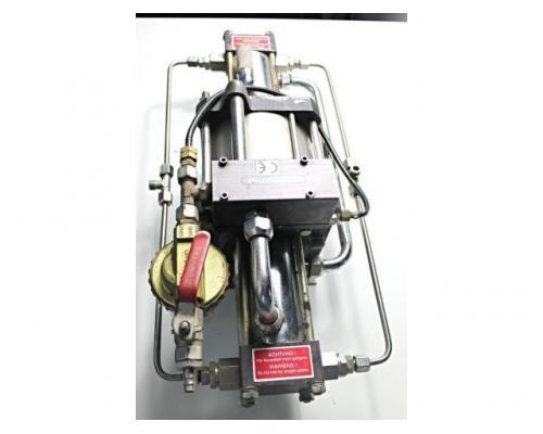 MAXIMATOR - druckluftbetriebener Kompressor DLE 5 GG - Bild 9