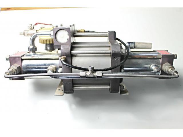 MAXIMATOR - druckluftbetriebener Kompressor DLE 5 GG - 10