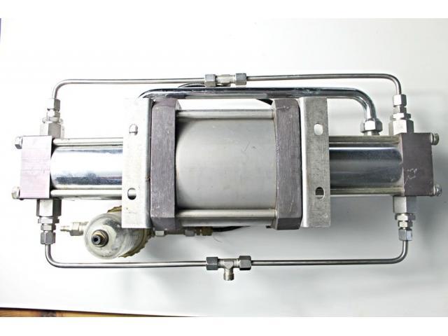 MAXIMATOR - druckluftbetriebener Kompressor DLE 5 GG - 11