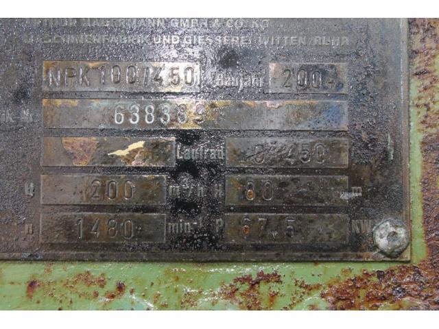 NPK 100/450 Baggerpumpe Habermann - 2
