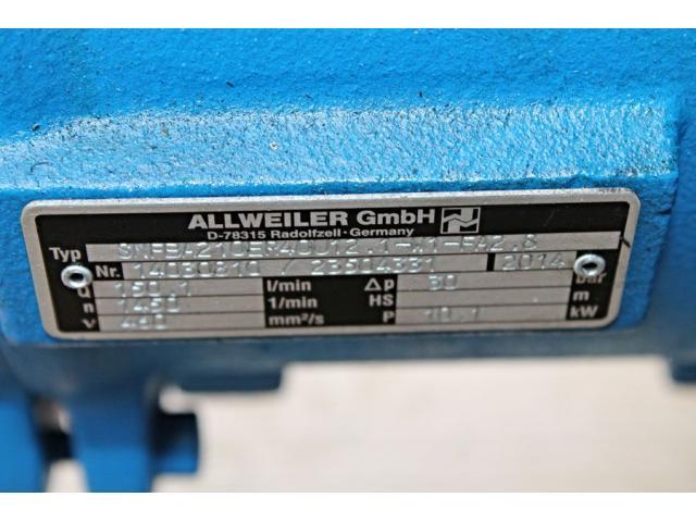 Schraubenspindelpumpe SNFBA210ER40U12.1-W1-FA2.8 Allweiler - 7
