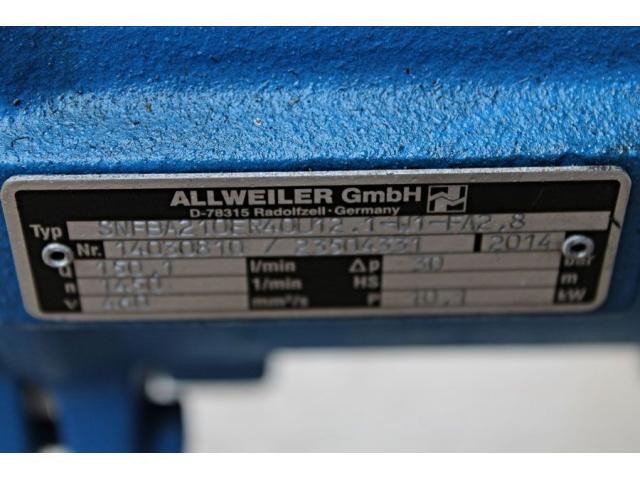 Schraubenspindelpumpe SNFBA210ER40U12.1-W1-FA2.8 Allweiler - 8