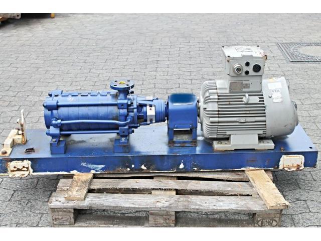 Hochdruckkreiselpumpe - KSB MTC-A 32/5C -02.1 - 10.61 - 1