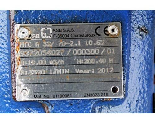 Hochdruckkreiselpumpe - KSB MTC-A 32/5C -02.1 - 10.61 - Bild 3