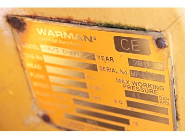 Warman 4/3 D-AH - 2