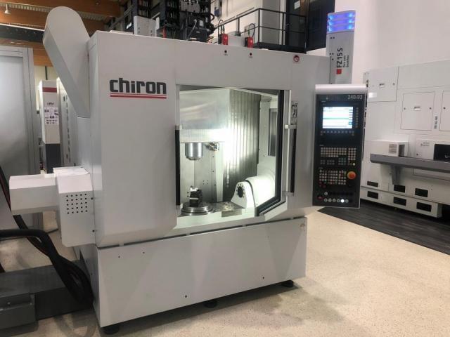 Chiron FZ 15 S five axis baseline - 2