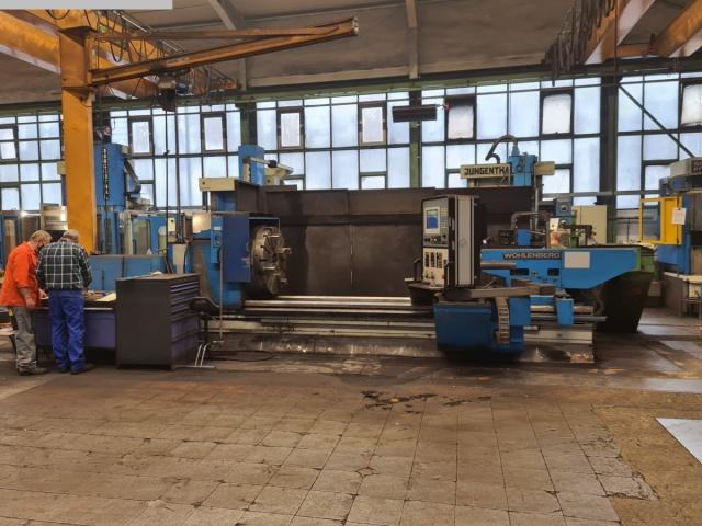 WOHLENBERG PT1-II 1070 CNC Drehmaschine - 1