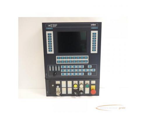 unipo EBF 2IB967323105K Bedienpanel SN:80082/728 - Bild 1