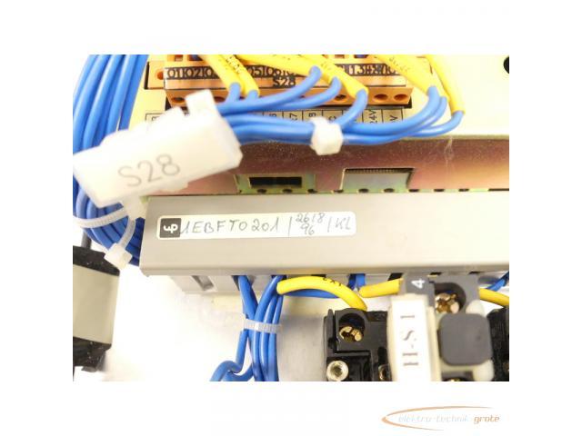 unipo EBF 2IB967323105K Bedienpanel SN:80082/728 - 5