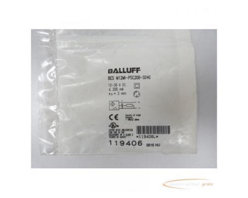 Balluff BES M12MI-PSC20B-S04G Sensor 119406 - ungebraucht! - - Bild 1
