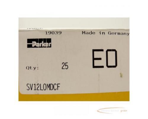 Parker Ermeto SV12LOMDCF Gerader Schottstutzen VPE = 25 St. - ungebraucht! - - Bild 2