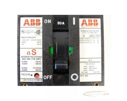 ABB NE-6941 Circuit Breaker 90A mit Fernbetätiger - Bild 2