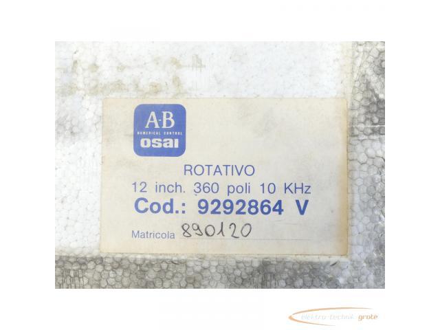 A-B OSAI Trasduttori Drehbarer indukt. Messwandler V12 inch 360 poli ungebraucht - 6