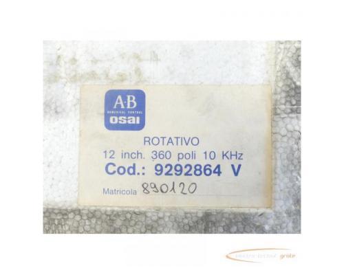 A-B OSAI Trasduttori Drehbarer indukt. Messwandler V12 inch 360 poli ungebraucht - Bild 6