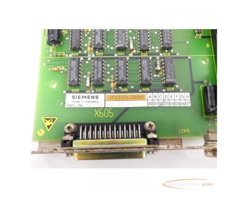 Siemens 6FX1114-2AA01 SINUMERIK 8 MS601-A Anpassung Fanuc-Leser SN:601200 - Bild 4