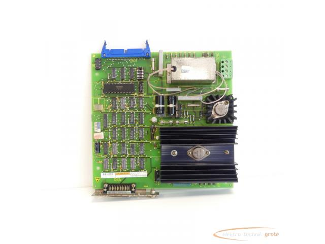 Siemens 6FX1114-2AA01 SINUMERIK 8 MS601-A 05 Anpassung Fanuc-Leser SN:60935 - 2
