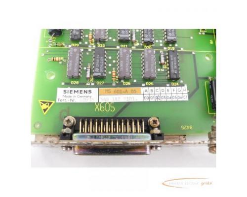 Siemens 6FX1114-2AA01 SINUMERIK 8 MS601-A 05 Anpassung Fanuc-Leser SN:60935 - Bild 4