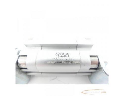 Festo ADVU-16-15-A-P-A Kompaktzylinder 156595 - Bild 2