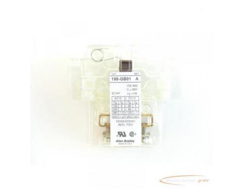 Allen Bradley 195-GB01 Hilfsschalter Series A - ungebraucht! - - Bild 3