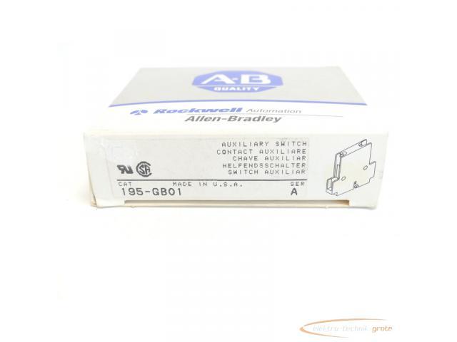 Allen Bradley 195-GB01 Hilfsschalter Series A - ungebraucht! - - 4