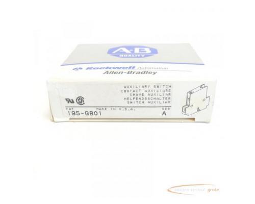 Allen Bradley 195-GB01 Hilfsschalter Series A - ungebraucht! - - Bild 4