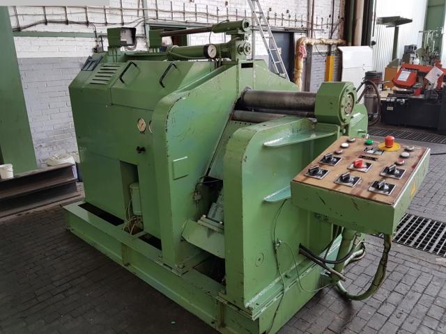HÄUSLER VRM-hy 400x25 mm Blechrundbiegemaschine - 4 Walzen - 1