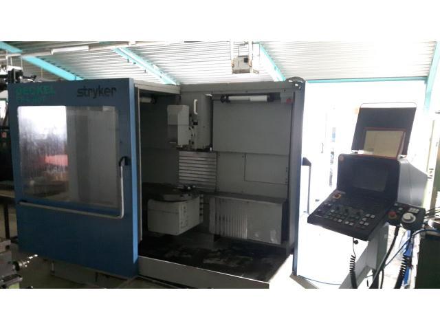 Universal-Fräs- und Bohrmaschine DECKEL FP 4- 60 T - 1