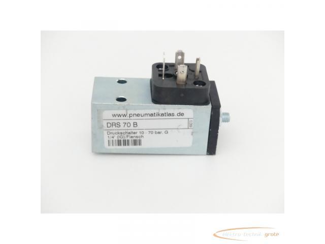 DRS 70 B Druckschalter 10 - 70 bar G 1/4 (IG) / Flansch - 1