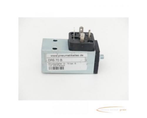 DRS 70 B Druckschalter 10 - 70 bar G 1/4 (IG) / Flansch - Bild 1