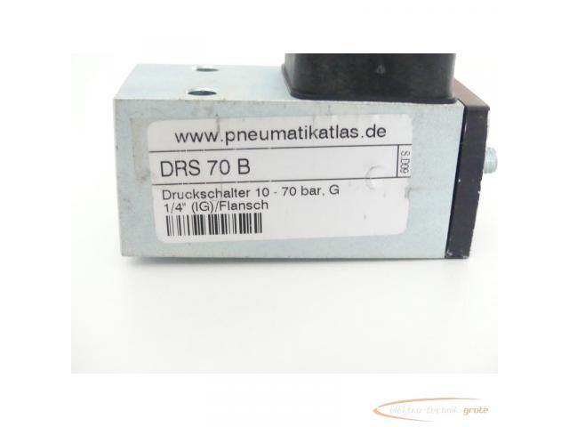 DRS 70 B Druckschalter 10 - 70 bar G 1/4 (IG) / Flansch - 2