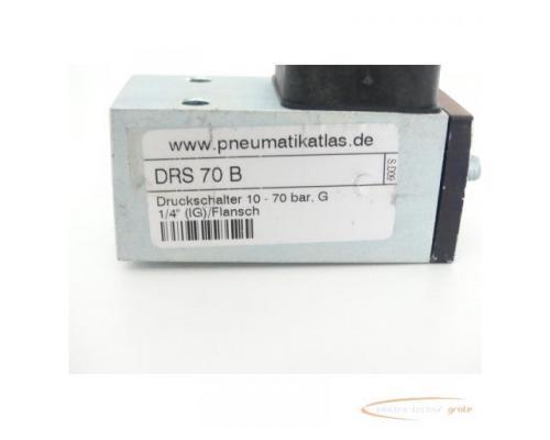 DRS 70 B Druckschalter 10 - 70 bar G 1/4 (IG) / Flansch - Bild 2
