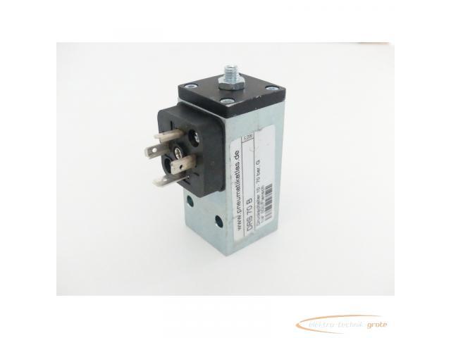 DRS 70 B Druckschalter 10 - 70 bar G 1/4 (IG) / Flansch - 6