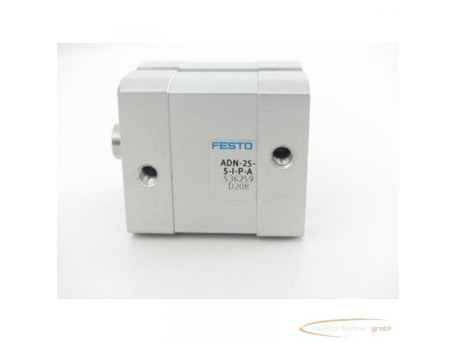 Festo ADN-25-5-I-P-A Kompaktzylinder 536259 D208 - 2
