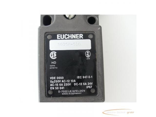 Euchner NG1SM-510 Positionsschalter D4 AC-15 6A 230V DC-13 6A 24V - 2