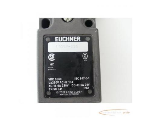 Euchner NG1SM-510 Positionsschalter D4 AC-15 6A 230V DC-13 6A 24V - Bild 2