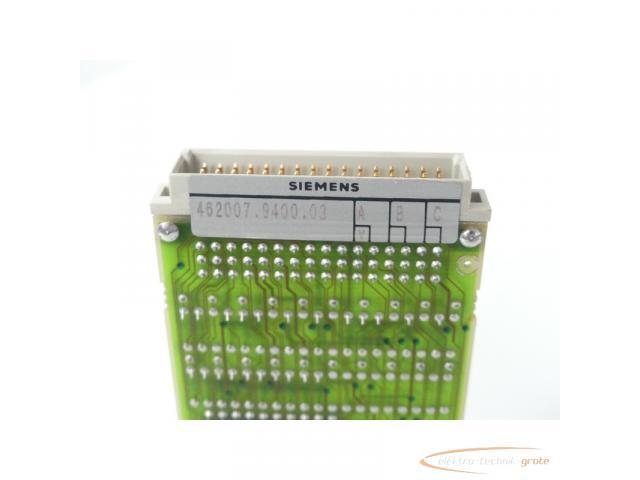 Siemens 462007.9400.03 Steuermodul Version A - 2